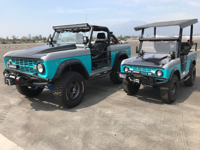 Autometer 1968 Ford Bronco