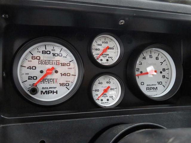 Midnight Blue Monte Carlo gauges