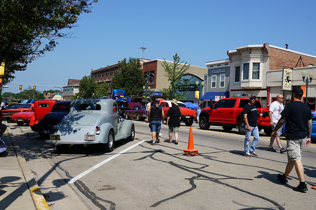 The Turning Back Time Car Show 2019