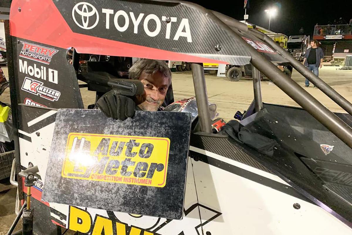 Dave Darland of USAC Racing