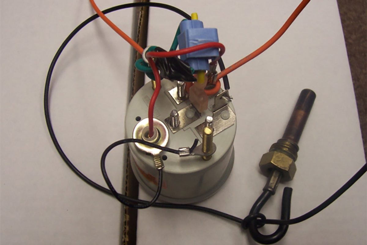 Autometer Wiring Ground-relocation Fix