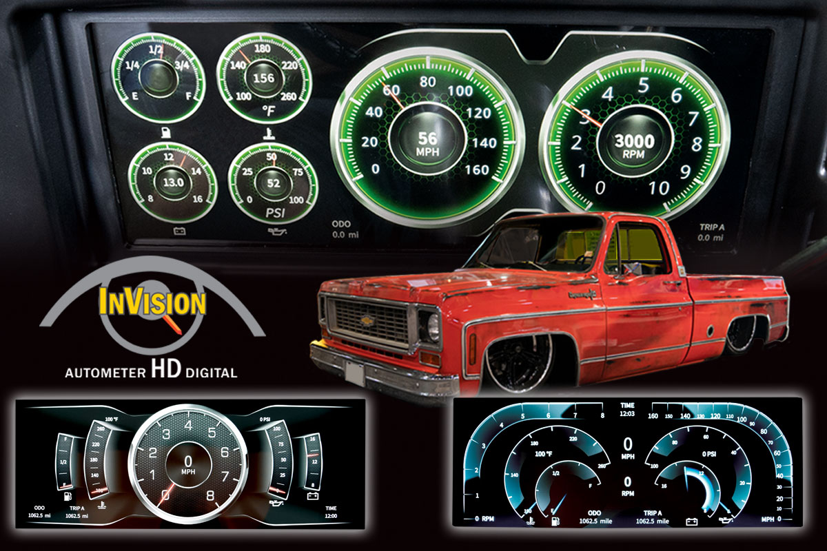 INVISION DIGITAL DASH FOR 1973-1987 CHEVY TRUCKS