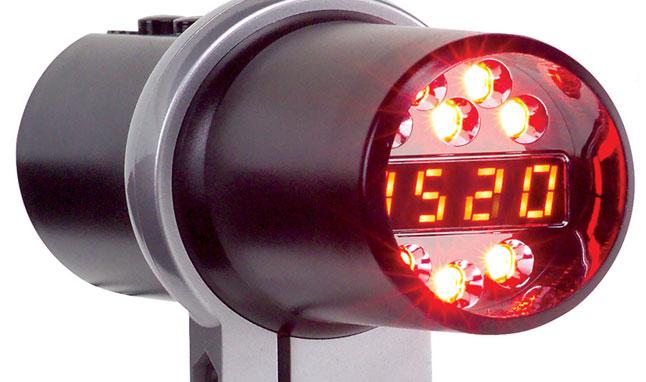 Autometer shift light
