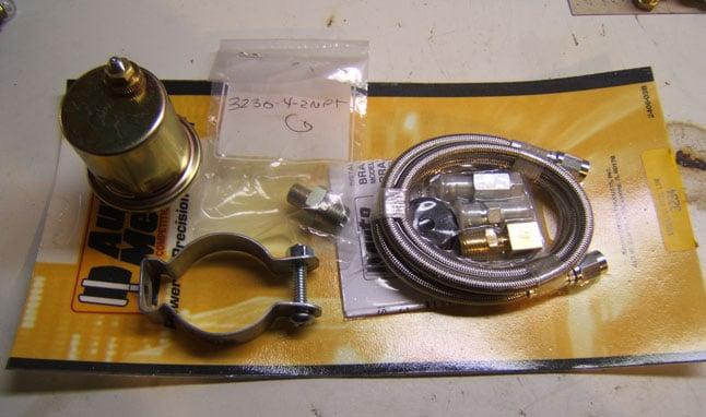 Autometer oil pressure senders