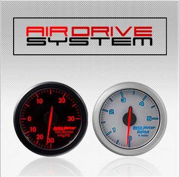 Air Drive System gauges