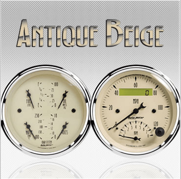Antique Beige gauges
