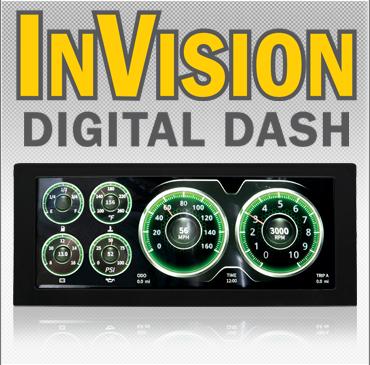 InVision Digital Dash
