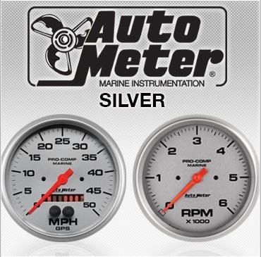 Autometer silver gauges