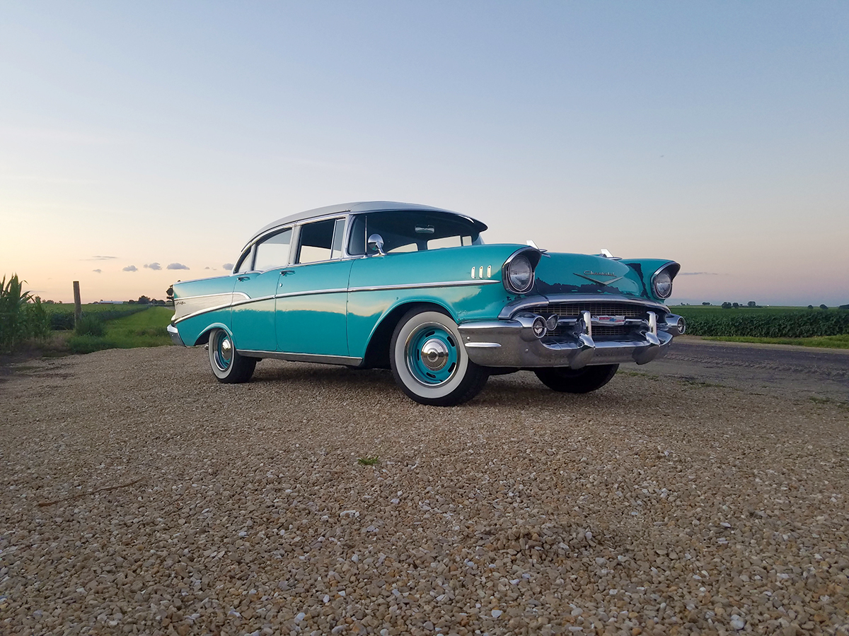 Family Owned 1957 Chevy