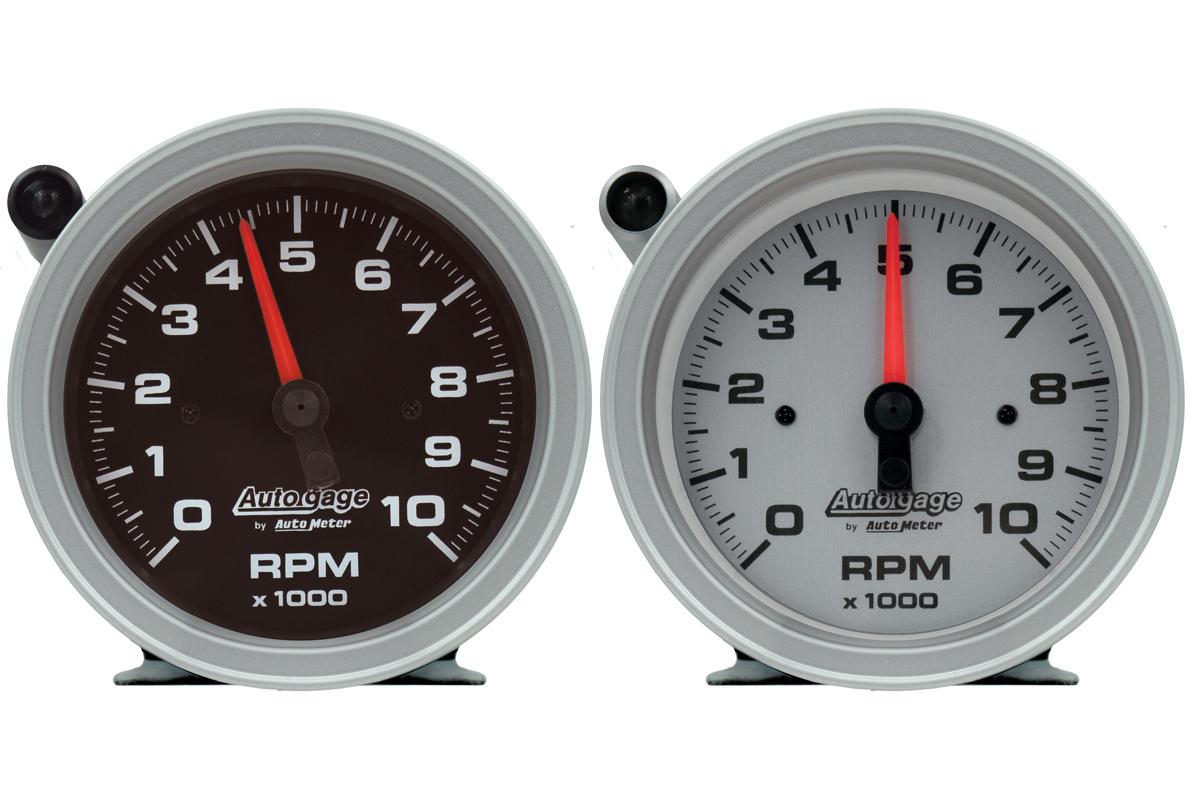 Auto gauge pedestal tachometers
