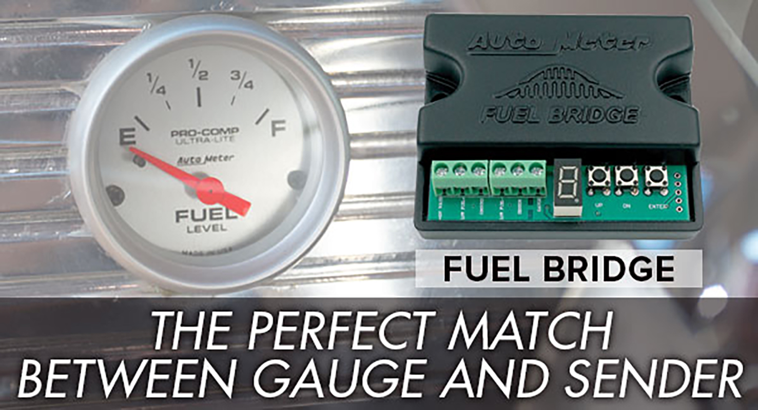 INTRODUCING THE FUEL BRIDGE INTERFACE FROM AUTOMETER