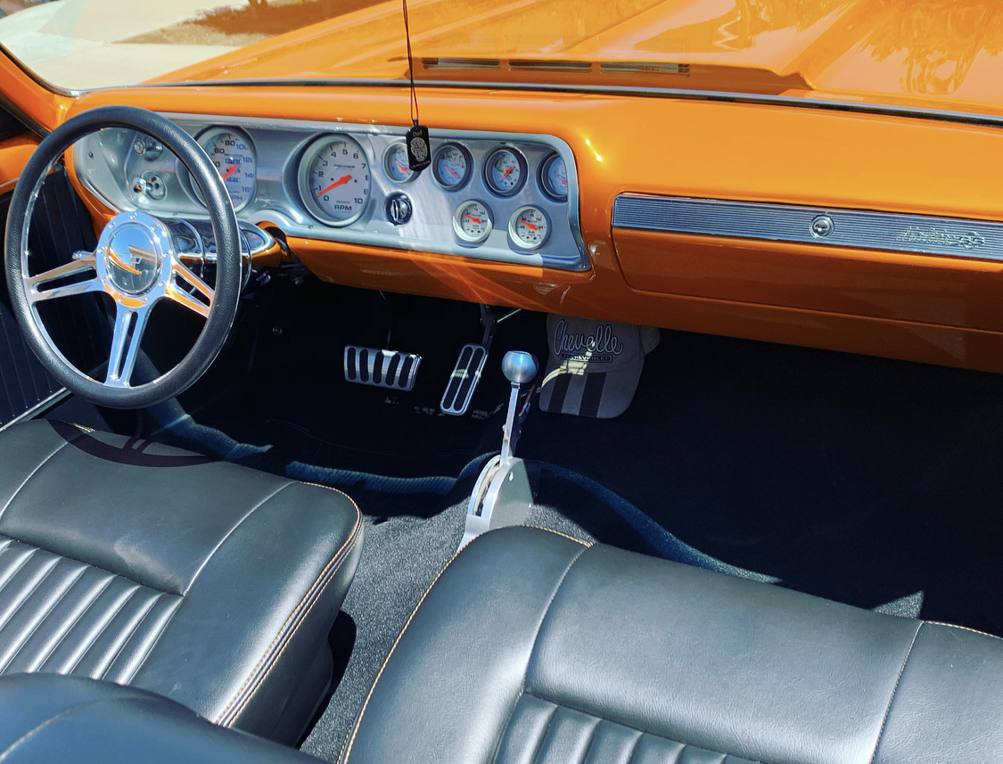 Chevelle frontseat interior