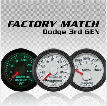 Factory Match Dodge 3rd Gen gauges