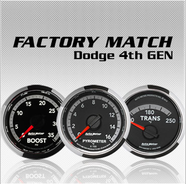 Factory Match Dodge 4th Gen gauges
