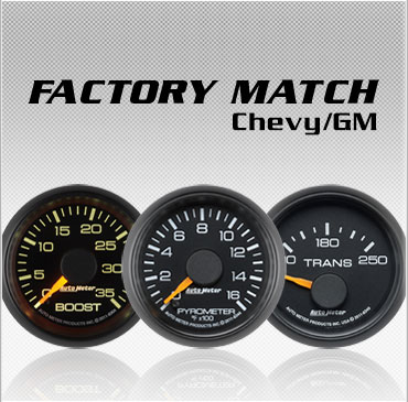 Chevy and GM Factory match gauges