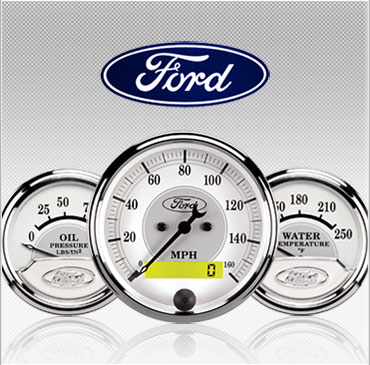 Ford Masterpiece gauges
