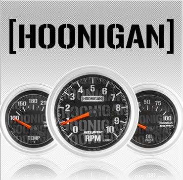 Hoonigan gauges