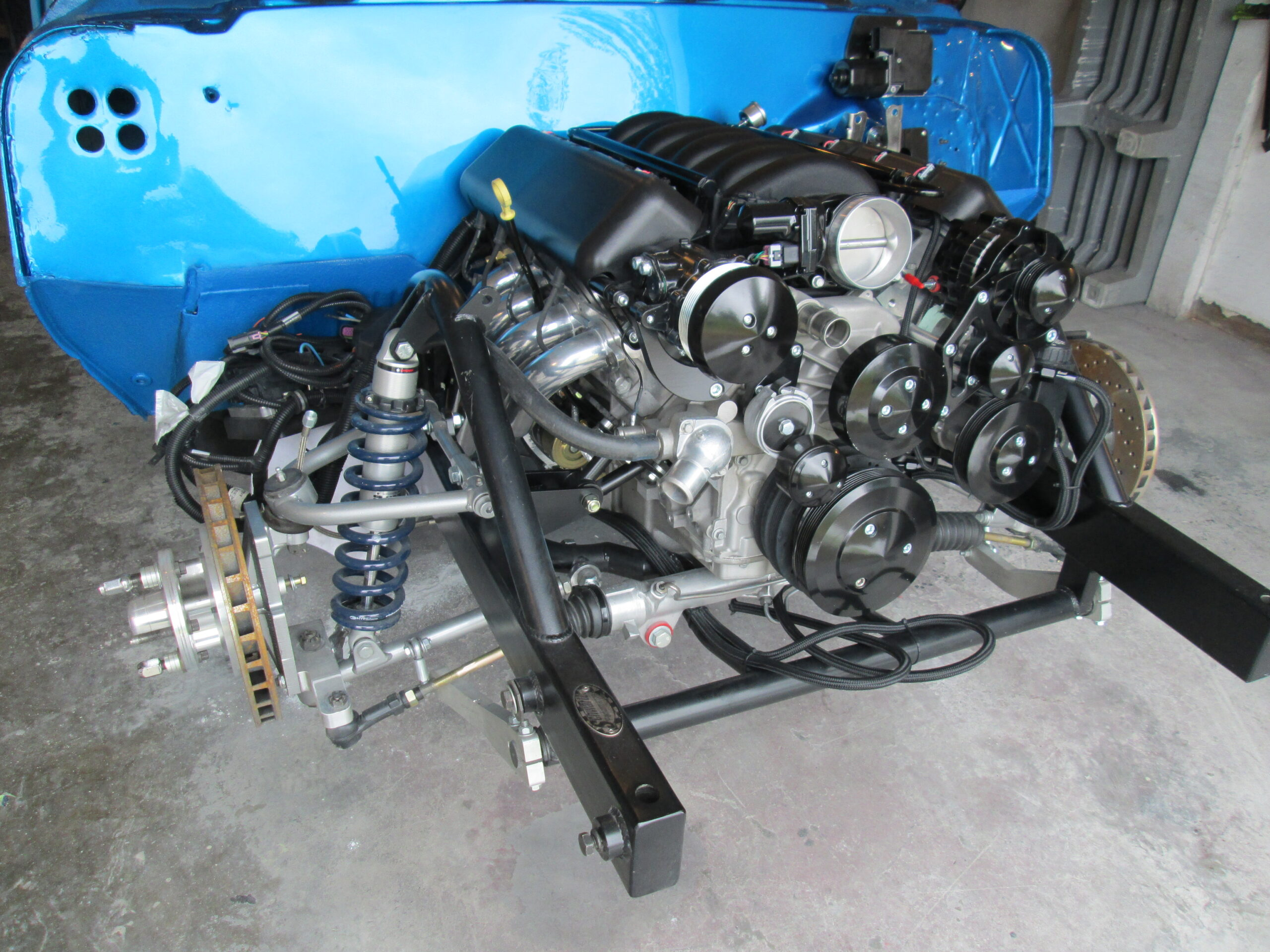 1966 CHEVELLE SS engine