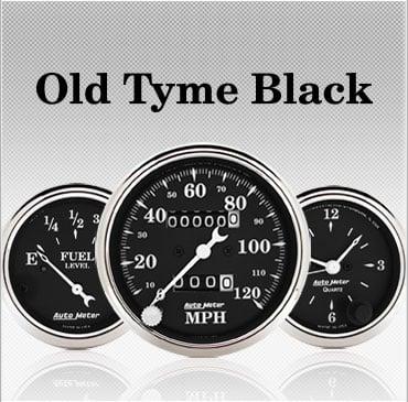 Old Tyme Black gauges