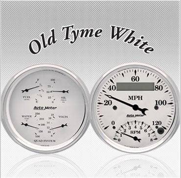 Old Tyme White gauge color