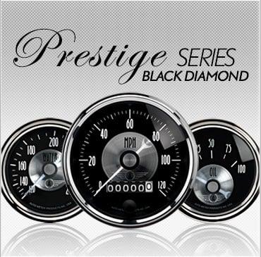 Prestige Series Black Diamond gauges