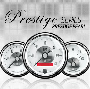 Prestige Series Prestige Pearl gauges