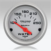 Automter UL Water Temp gauge
