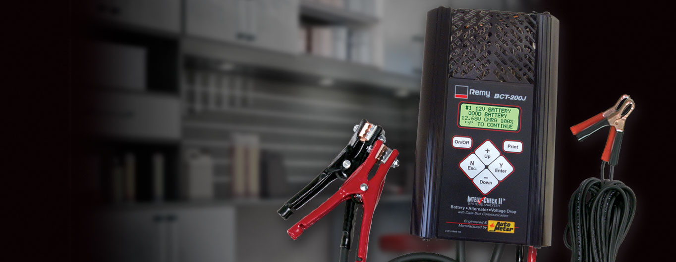 Remy battery tester