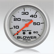 Autometer UL Blower Press gauge