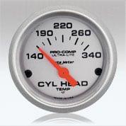Autometer UL CylHead Temp gauge