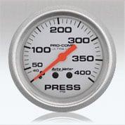 Autometer UL Pressure gauge