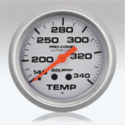 Autometer UL Temperature gauge