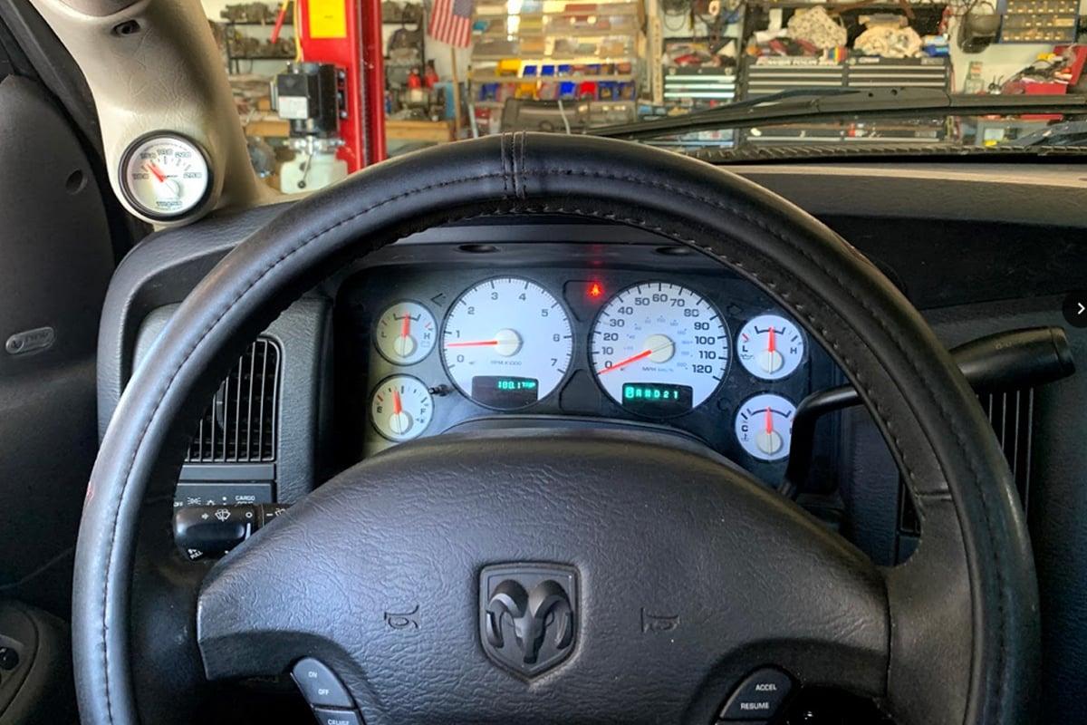 Installing a Trans Temp Gauge in a 2003 Dodge Ram 1500 with a 5.7 Hemi