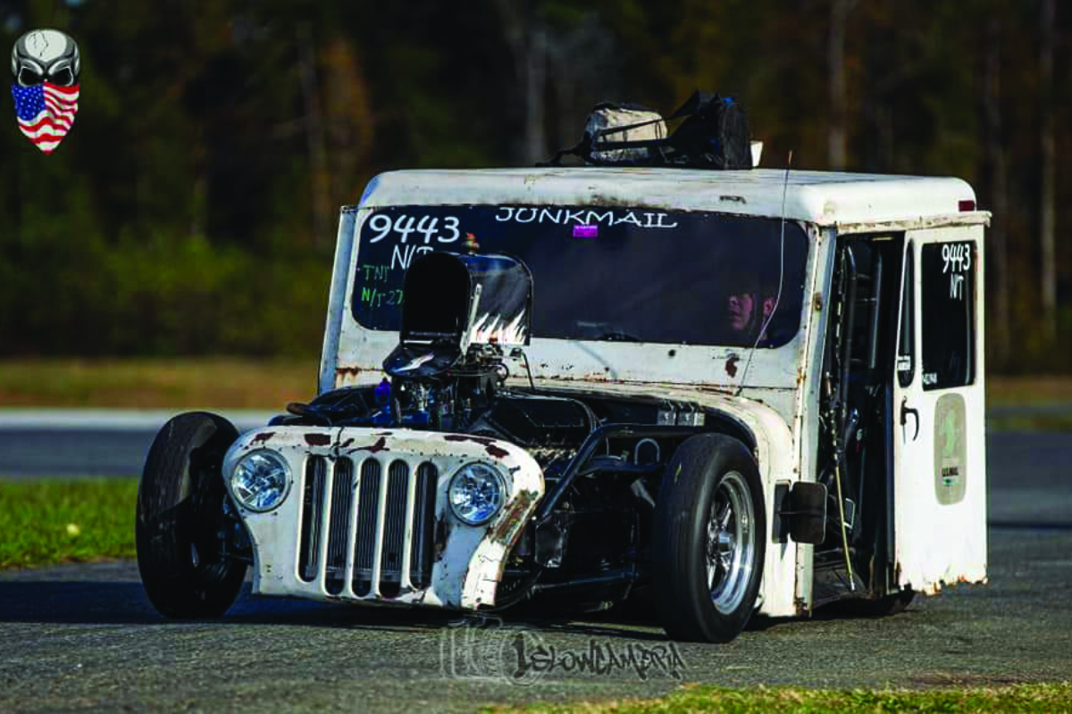 Express Mail: Jordan Fisher's Postal Jeep Built to Race