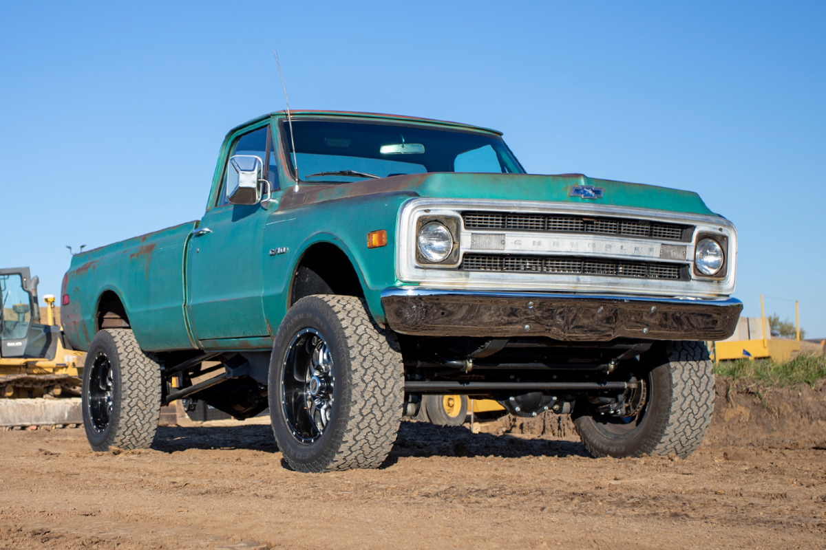 Ryan Wehrli's Duramax Powered 1970 C10