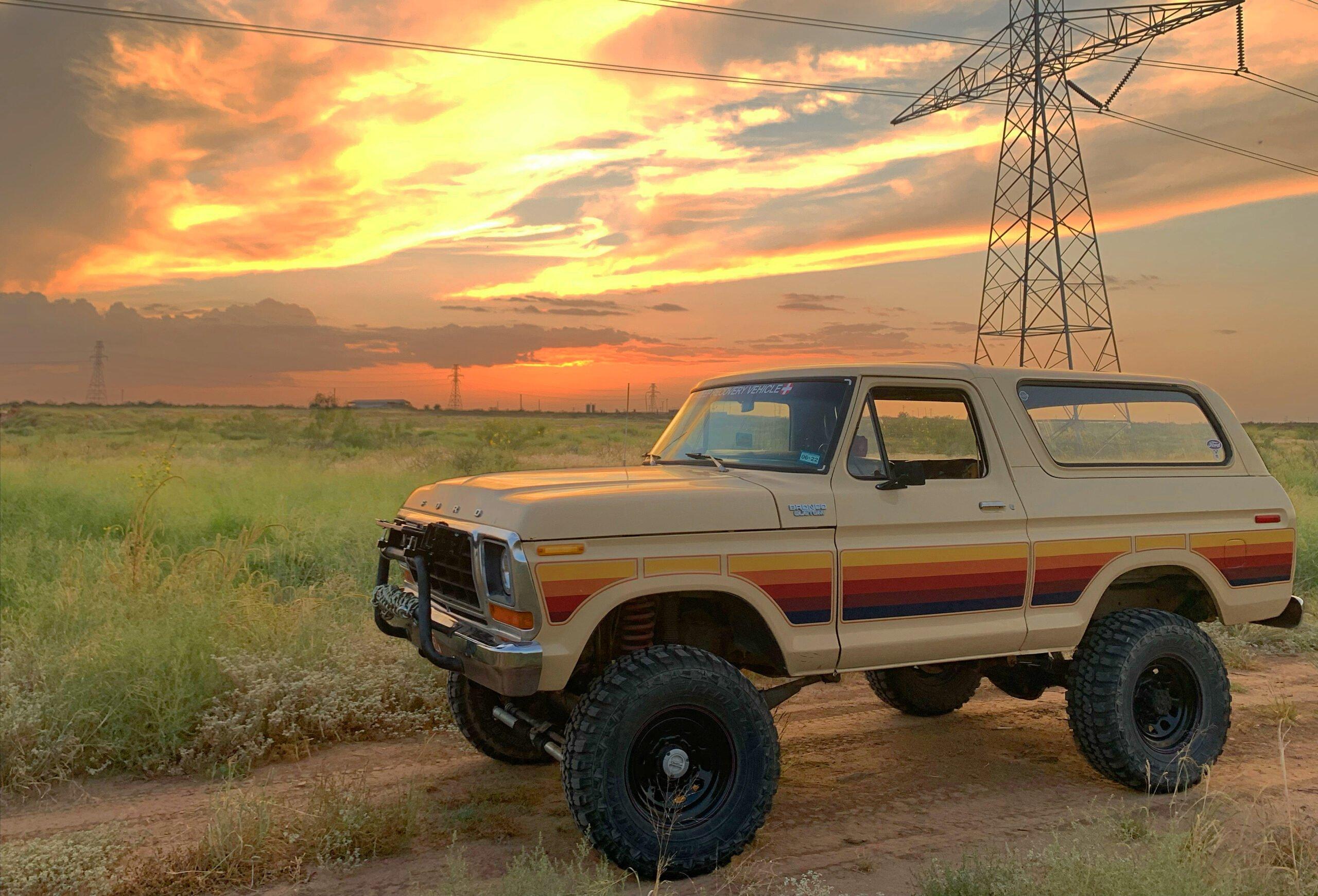 Rustin's 1978 Ford Bronco