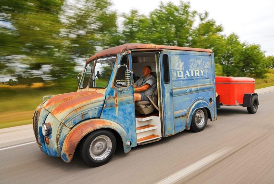 1963 Divco Twin-Turbo Milk Truck